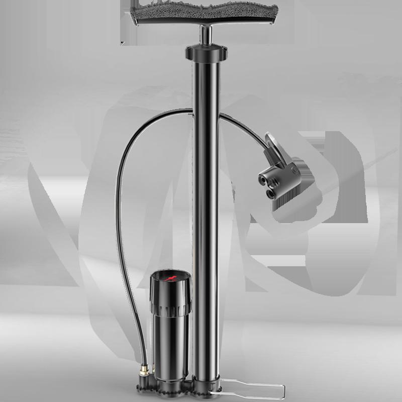 打气筒自行车高压气筒小型家用电动电瓶车汽车篮球通用气管子充气