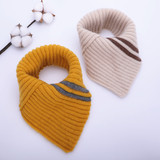 Baby scarf winter neck boys and girls triangle scarf 6 months - 4 years 1 autumn and winter children's neck baby scarf