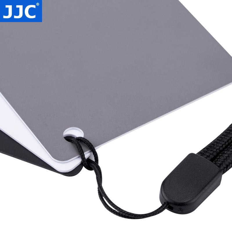 JJC 18度灰卡白平衡板 黑白灰三色中灰卡 拍摄测光无色差防水灰板