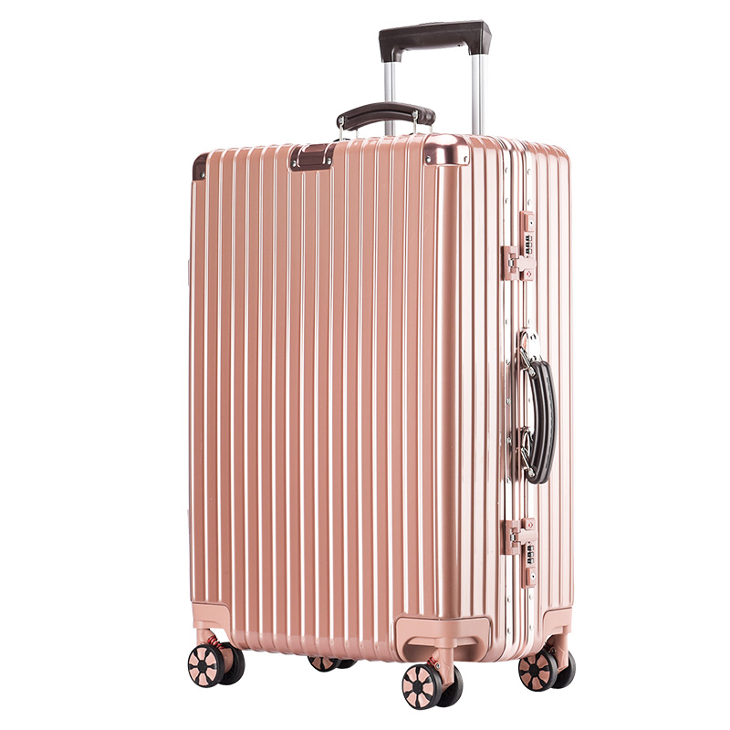 寸 24 箱子 28 密码箱 20 女男学生韩版旅行箱万向轮 26 行李箱铝框拉杆箱