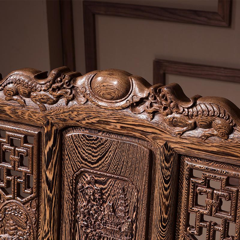 王木匠 红木实木家具鸡翅木沙发 现代中式仿古客厅组合整装五件套