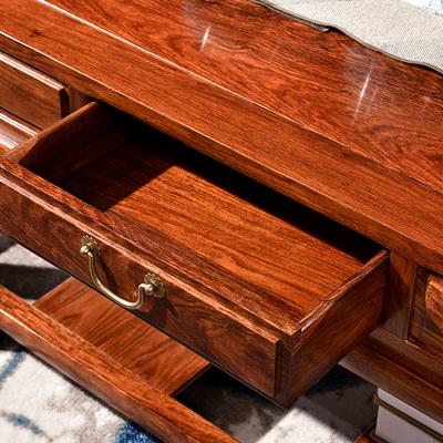 王木匠红木新中式沙发组合花梨木刺猬紫檀大户型实木别墅客厅家具 - 图2