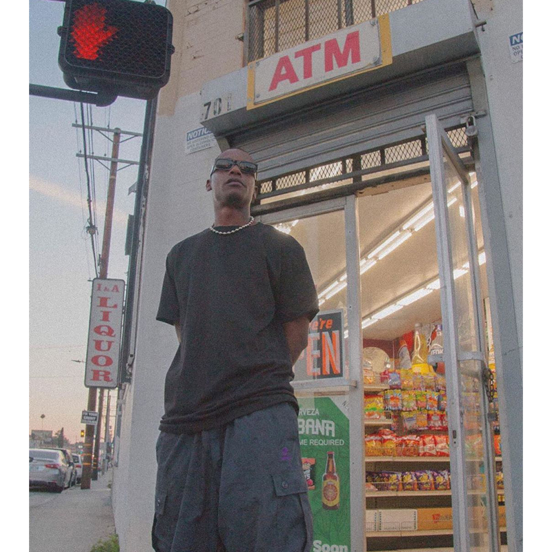 BBOY  恤街舞 T PROCLUB 美国潮嘻哈打底 西海岸大码宽松圆领纯色短袖男