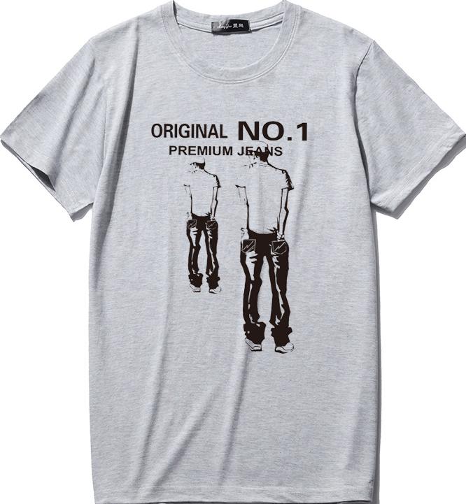 天天特价夏季新款男学生短袖t恤圆领纯棉中年爸爸装青少年胖t上衣