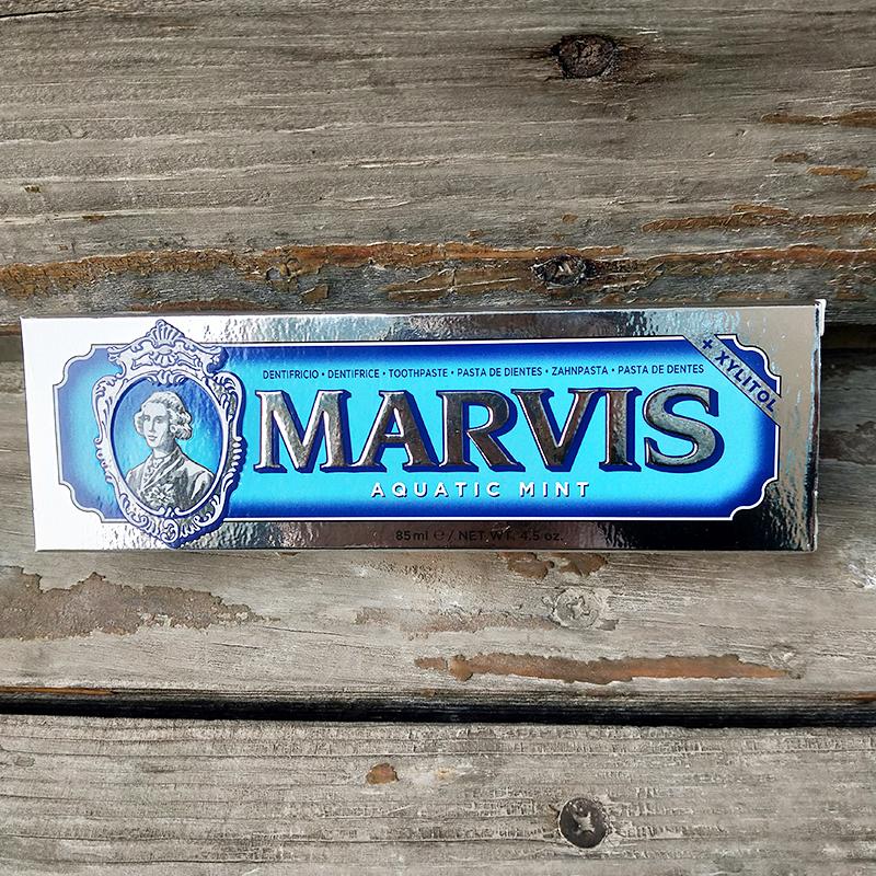 牙膏中的爱马仕 意大利MARVIS麦尔韦斯海洋薄荷牙膏85g 清洁舌苔优惠券