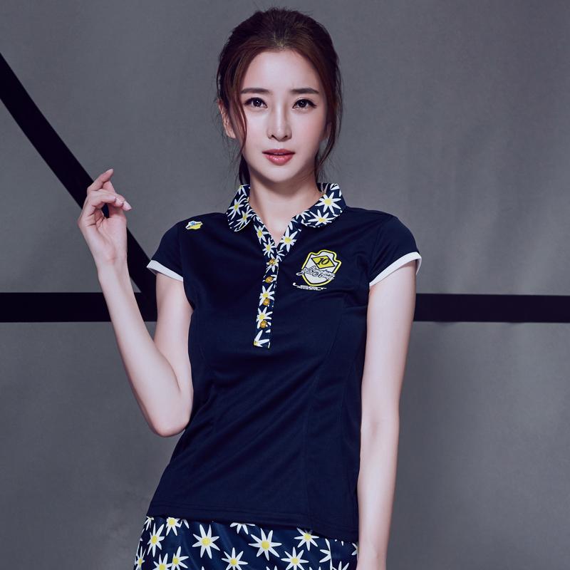 夏季新款正品領勝羽毛球服女款短袖T恤速幹顯瘦時尚運動上衣S10