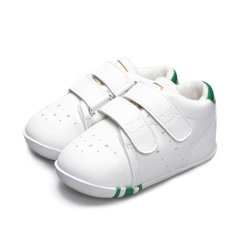 卡特兔儿童鞋经典幼儿园小白鞋男童运动鞋女童休闲板鞋学步机能鞋