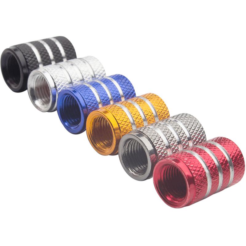 汽车轮胎气门嘴帽电动车摩托车气嘴盖铝合金气门芯盖胎压监测通用