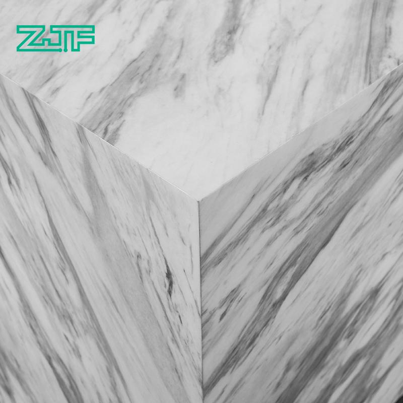 众匠坊ZJF 办公室前台接待台 仿石材简约现代大理石收银台吧台D2