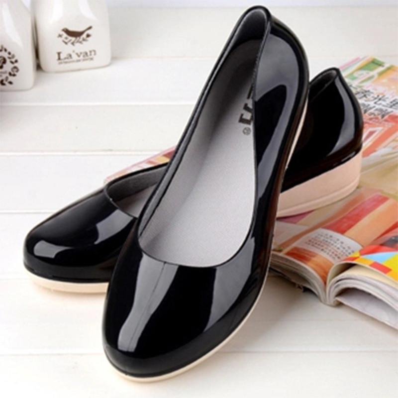 夏季春秋女士黑色淺口短筒雨鞋膠鞋低幫廚房防水水靴雨靴水鞋女鞋