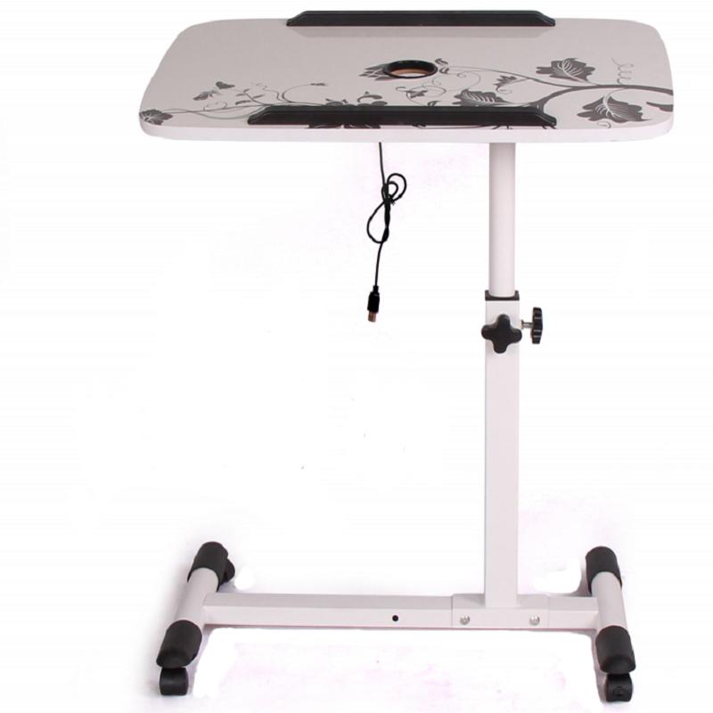 床上用多功能懒人小床边桌折叠可移动升降旋转笔记本电脑桌子简约