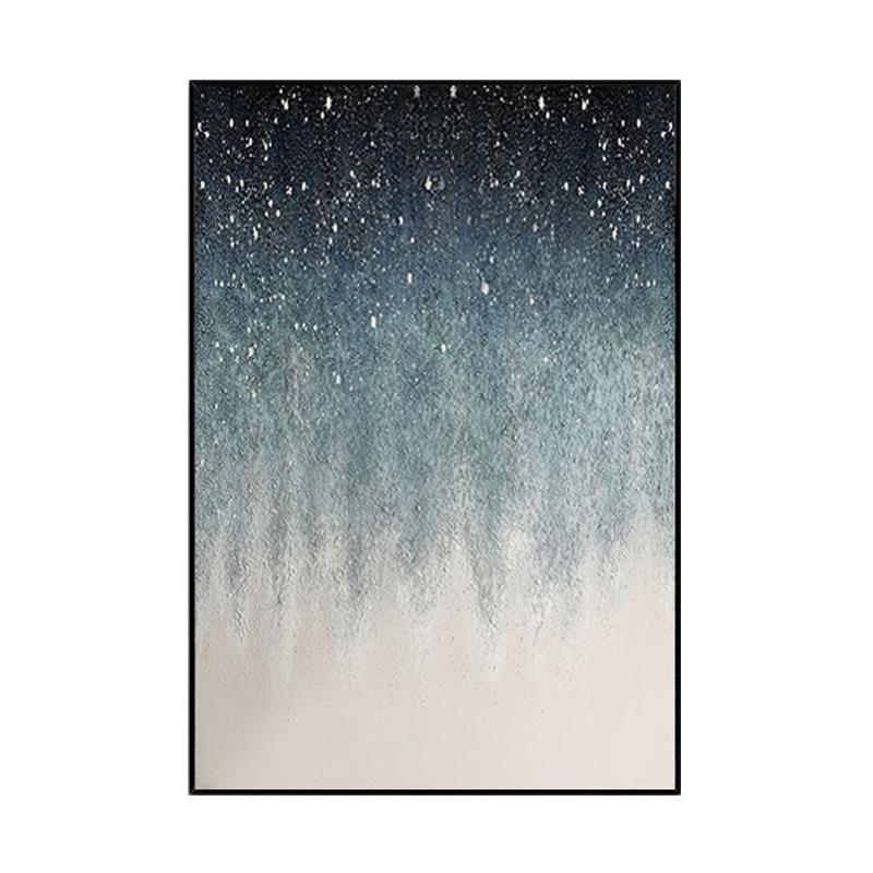 手繪現代抽象畫客廳餐廳掛畫玄關走廊臥室立體裝飾畫星空油畫定制