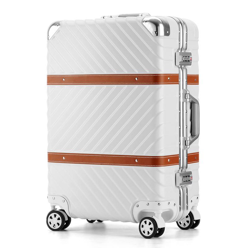 28 寸登机男 20 旅行万向轮密码箱子小 24 昕辰铝框行李箱女复古拉杆箱
