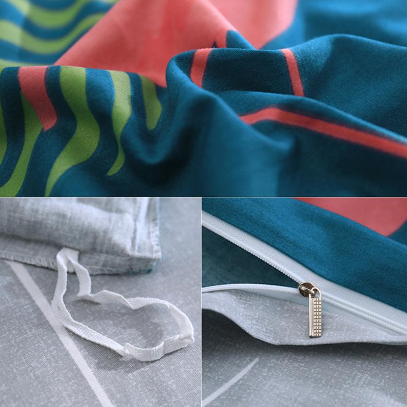 纯棉四件套全棉被套欧式学生宿舍单人床单三件套简约女床上用品