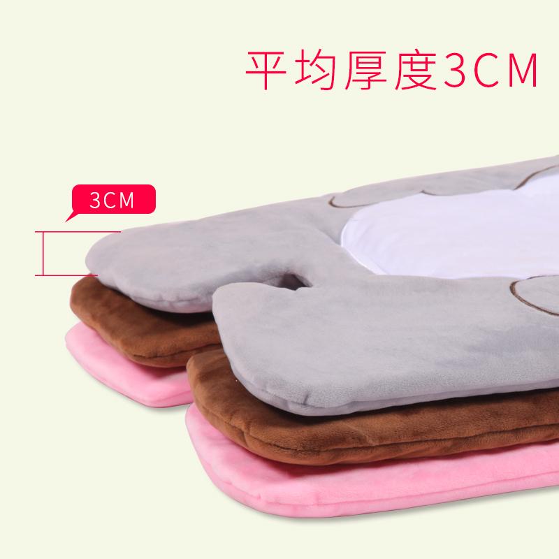 婴儿推车棉垫子加厚纯棉冬季儿童宝宝餐椅保暖坐垫婴儿车配件通用