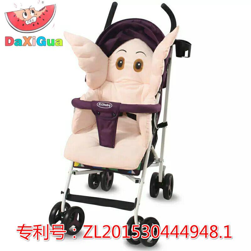婴儿推车坐垫全棉加厚冬季纯棉垫子保暖挡风罩宝宝餐椅棉垫通用