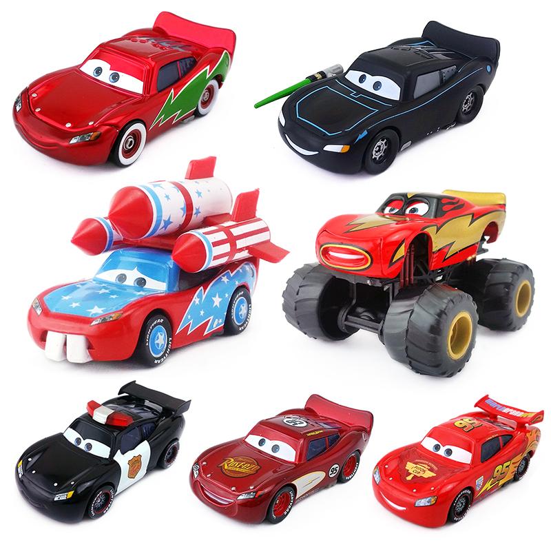 赛车汽车总动员儿童玩具车合金车模吐舌大脚双色彩绘闪电麦昆大全