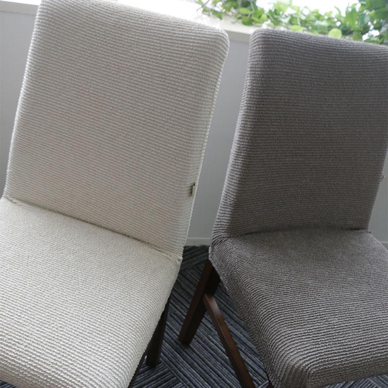 铂原防水防油饭店布艺椅套 四季餐椅套子定做椅子套罩椅罩