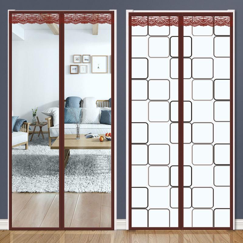 空调门帘透明厨房磁铁自吸挡风家用卧室隔断帘冬季保暖防风防冷气
