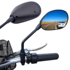 Electric bicycle rearview mirror retrofit mirror large field of view retrofit Emma Tai Ling Accord Cage model universal
