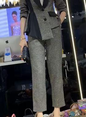 义乌俊英名店欧韩女装高端走秀款大牌女装欧洲站2021年新款连衣裙