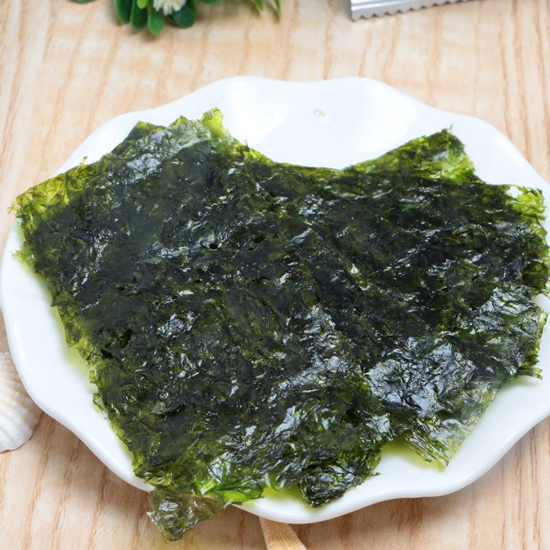 韩国进口儿童零食整箱包邮 四种口味 包 72 海苔即食 食品旗舰店 zek