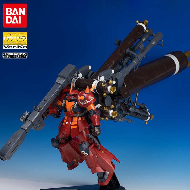 万代高达拼装模型 MG 1/100 ka版卡版高机动型精神力扎古雷霆宙域