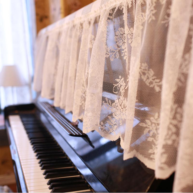 美式鄉村 地中海 田園 經典百搭 格子系列 萬能巾 鋼琴蓋巾 罩巾