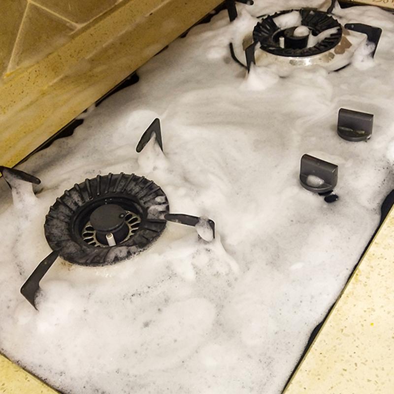厨房强力泡沫去油神器