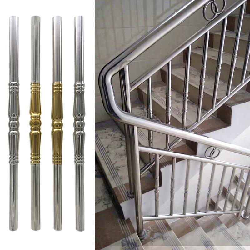 25不锈钢楼梯扶手水涨柱室内立柱阳台装饰配件花护栏栏杆柱子室外