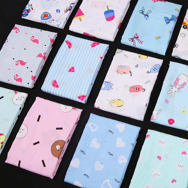 人造棉布料面料 绵绸夏季棉布宝宝衣服儿童睡衣薄款人棉 棉绸布料