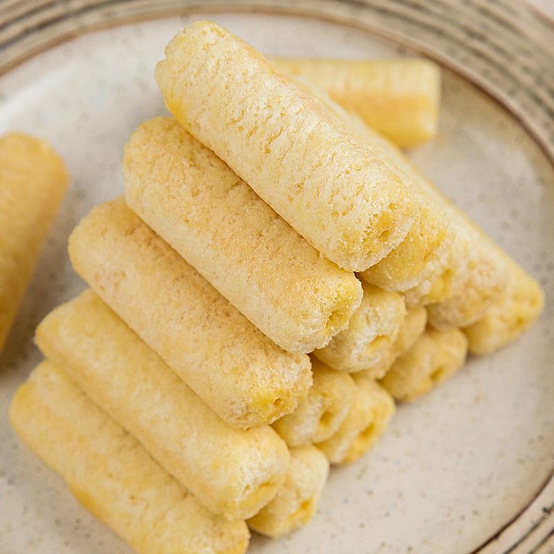 劲力郎酱心米果卷夹心能量棒糙米卷膨化食品粗粮饼干零食约55支