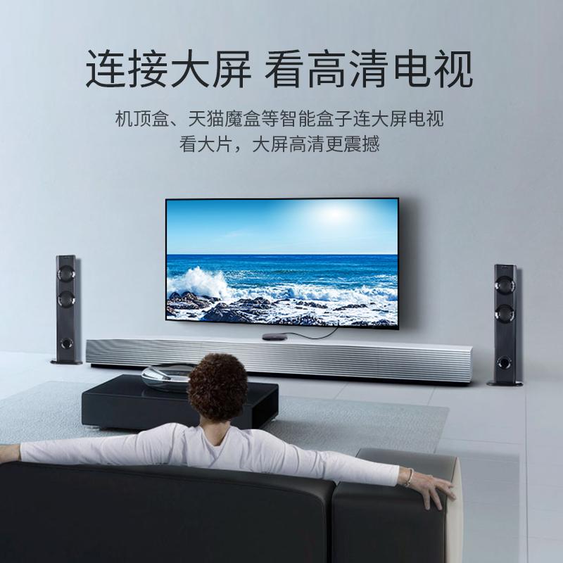 绿联hdmi线高清线2.0版4k电脑电视连接显示器投影仪扁线5机顶盒信号线加长10米30延长台式主机笔记本音视频线