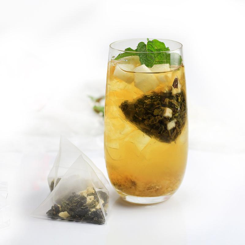 样样好禧品御可贡茶可卡奶茶通用原料 克白桃乌龙三角茶包 4