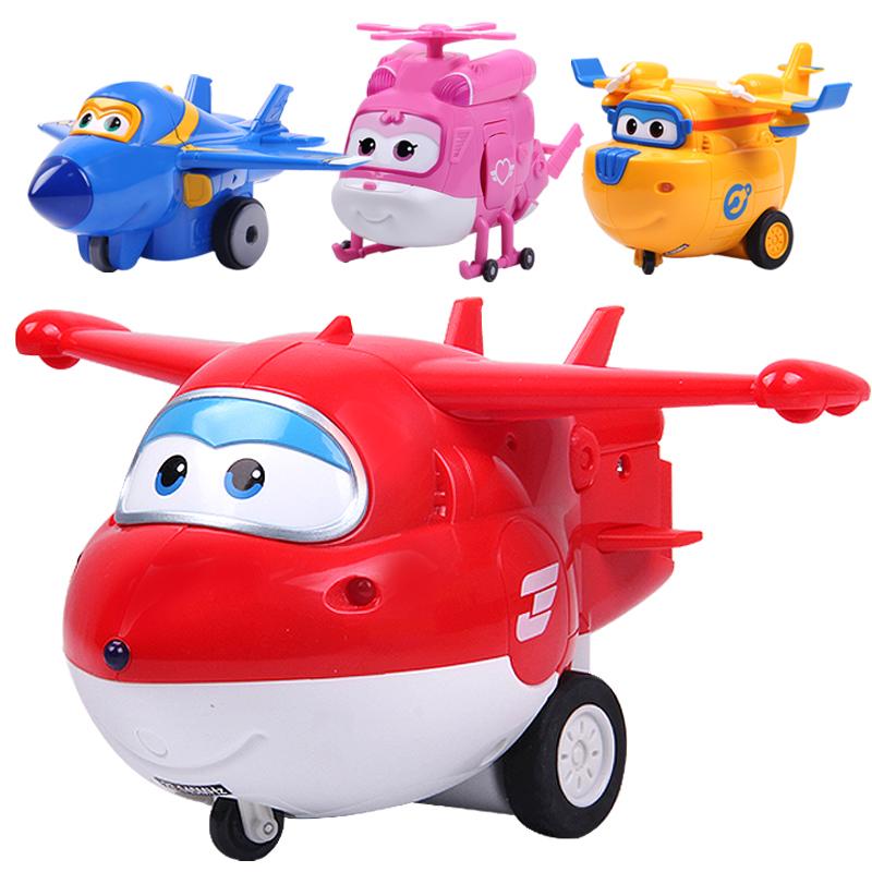 奥迪双钻乐迪多多酷飞小爱超级飞侠机器人 惯性滑行飞机儿童玩具