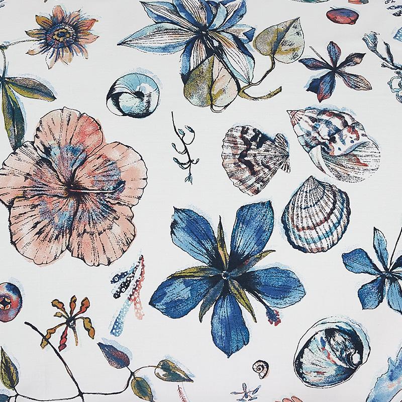 SHERIDAN(家纺)澳洲床上用品小清新棉四件套海之秘床单被套1.8/2m