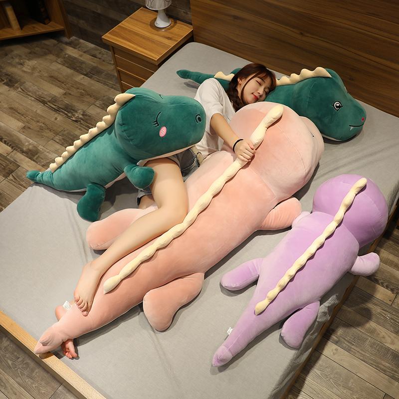 可爱大号恐龙毛绒玩具公仔布娃娃玩偶陪你睡觉床上抱枕女生男女款