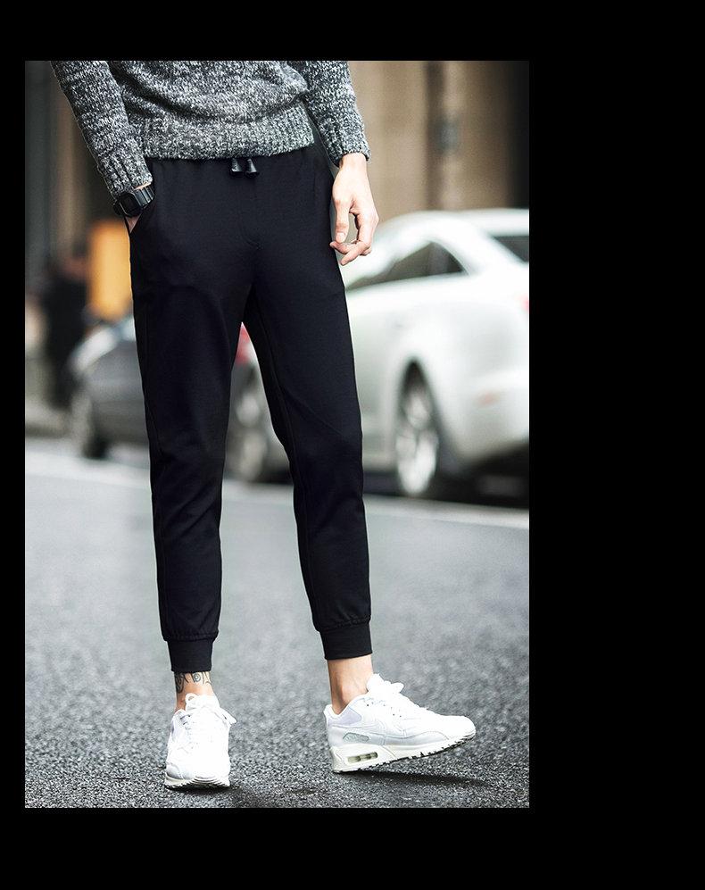 潮流韩版长裤跑步装学生情侣运动休闲外套 2018 卫衣套装男士秋冬季