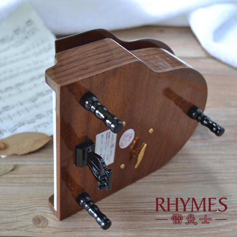 木钢琴贴皮八音盒音乐盒创意生日礼物乔迁团购 Y30M8E 韵升雷曼士