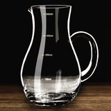 Huafu white wine wine cooler wine decanter wine wine glass crystal wine glass measuring cup with scale