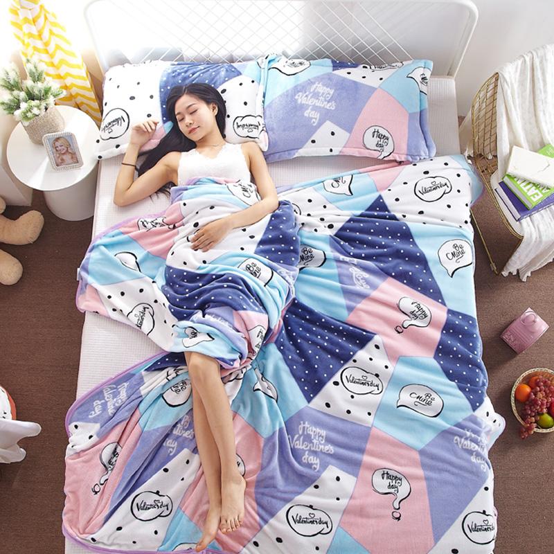 北极绒毛毯珊瑚绒毯子加厚冬季保暖法兰绒床单人宿舍学生小被子