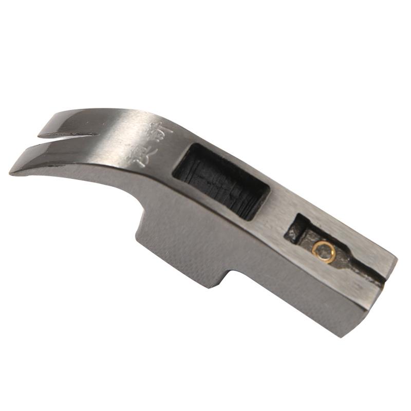正品澳新羊角锤头 木工配件榔头铁锤子工具 圆方头防滑带磁铁薄口