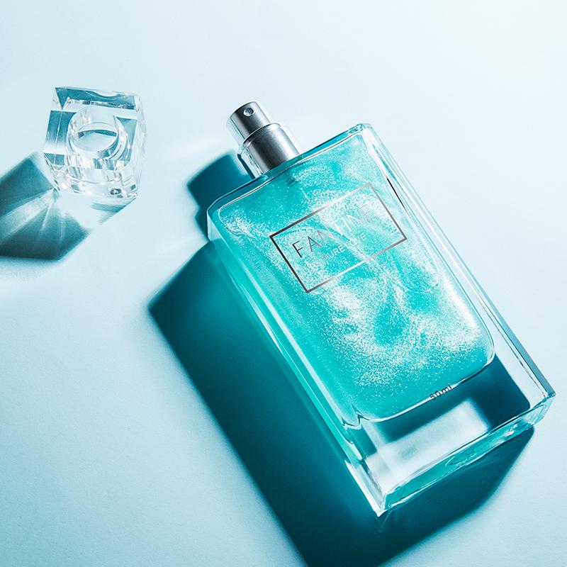 合逸纯爱蓝风铃法国女士香水持久淡香学生少女小众清新自然正品