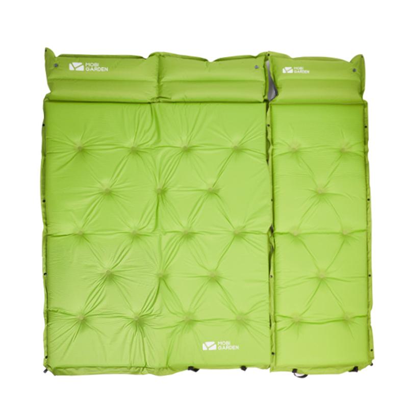 牧高笛自动充气垫户外野营帐篷睡垫防潮垫单双人新款水瓶冷山加厚