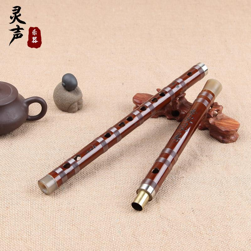 灵声乐器董雪华老师亲制笛子专业演奏笛子竹笛横笛厂家直销
