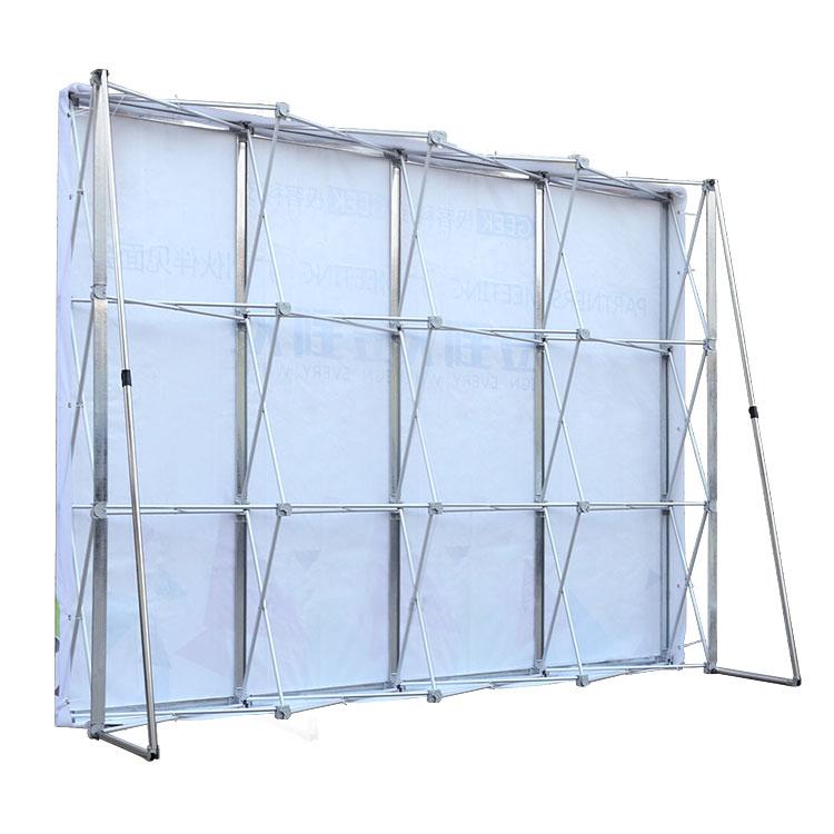 铝合金拉网展架折叠签名签到墙简易桁架婚庆背景架大型喷绘广告架