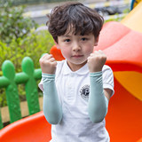 Children's ice sleeve sun protection arm sleeve boys and girls baby Korean summer ice silk thin baby baby care sleeve
