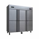 新荣声六门冰箱商用双温冷藏冷冻6门冰柜厨房保鲜柜大容量工程款 - 4