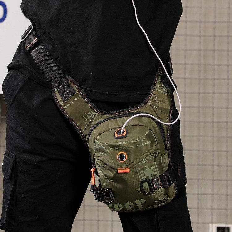 腰包男包多功能新款腿包运动小包单肩包斜挎胸包两用防水女包2020