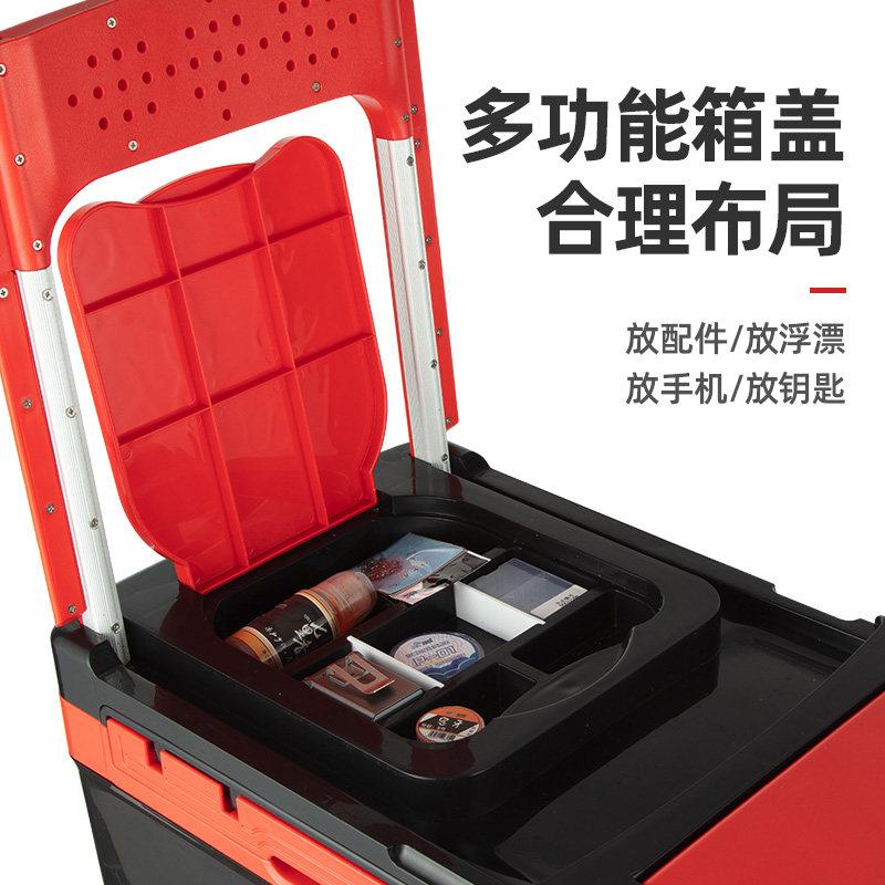 佳钓尼2019新款钓箱超轻大容量全套免安装钓鱼箱多功能加厚台钓箱